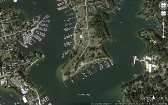 Calvert Marina / Google Earth
