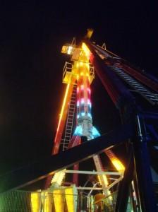 Ocean City amusement ride at Boardwalk THE CHESAPEAKE TODAY photo