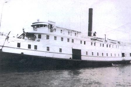 This Chesapeake steamer ran the routes between Norfolk, Washington and Baltimore, stopping and dozens of landings along the way.