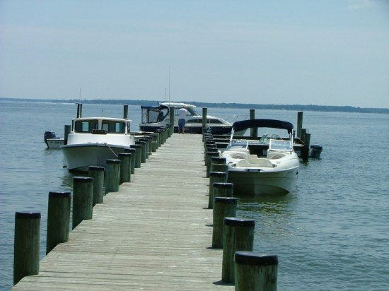 The St. Clements Island is accessible only by either swimming a couple of miles from land or taking the water taxi from the Colton's Point Potomac River Museum. Private boats are welcome. THE CHESAPEAKE TODAY photo