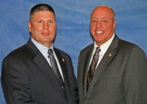 L – Deputy State Fire Marshal Edward Ernst R – State Fire Marshal Brian S. Geraci