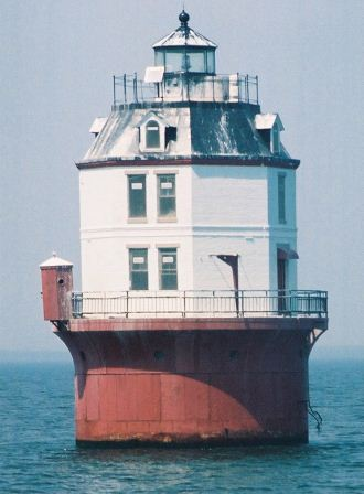 Point No Point Lighthouse in the Chesapeake Bay was recently offered for auction and bidder wisely avoided the cost of upkeep and let the government keep it. THE CHESAPEAKE TODAY photo