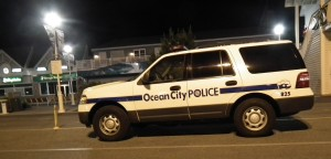 Ocean City Police investigate a suspicious death.  THE CHESAPEAKE TODAY photo