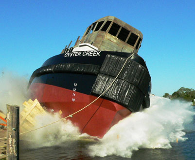Oyster Creek launched.