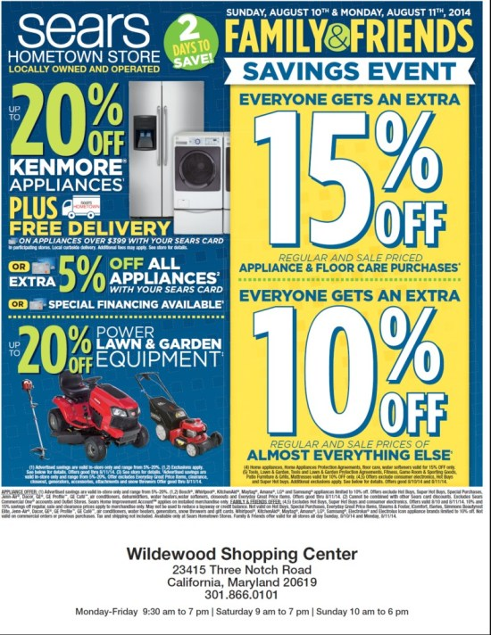 Sears August 2014