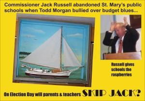 Skip Jack on Election Day