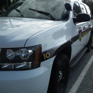 Talbot Sheriff's patrol car.