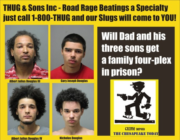 Thug & Sons Prince William County arrests