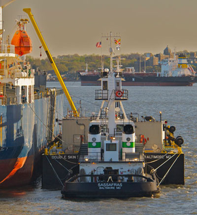 The Sassafras, one of ten new tugs being built for Vane Brothers by Chesapeake Shipbuilding Co.