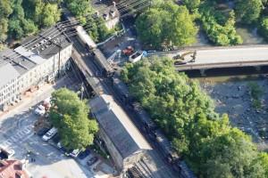 CSX coal train derailed in Ellicott City, Md.  073114