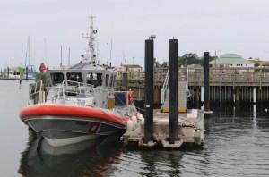 Cape Charles Coast Guard response boat