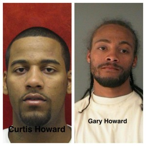 Curtis and Gary Howard wanted for attempted murder
