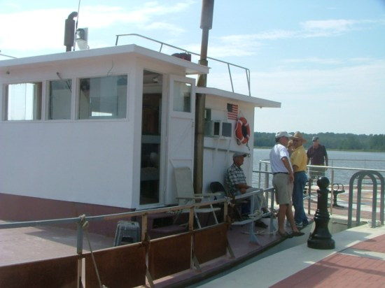 The Poppa Francis on display at Breton Bay.  THE CHESAPEAKE TODAY photo