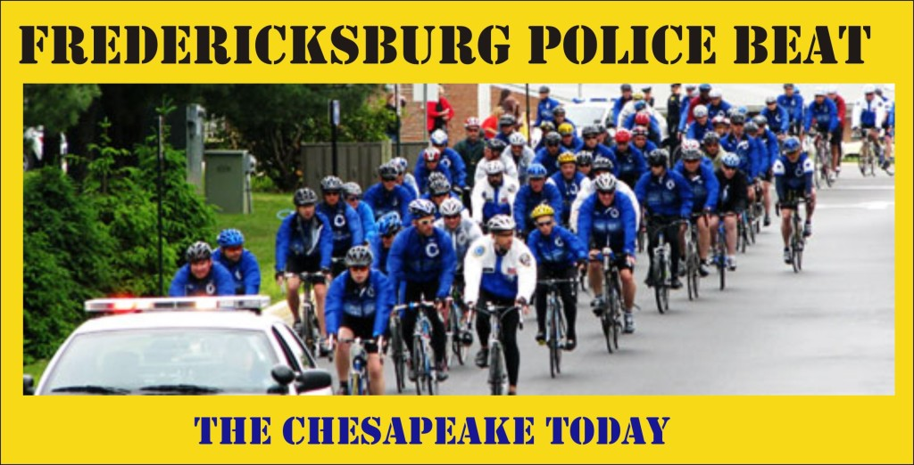 Fredericksburg Police Beat graphic
