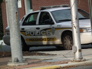 Pocomoke City Police. THE CHESAPEAKE TODAY photo