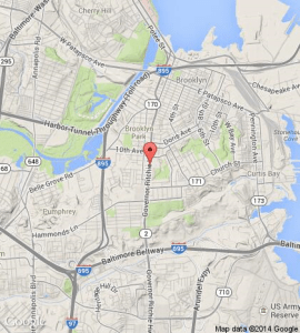 Popeyes murder location Google map