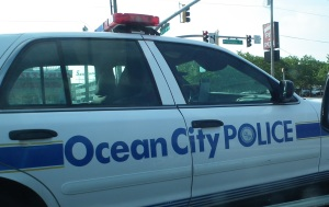 Ocean City Police squad car