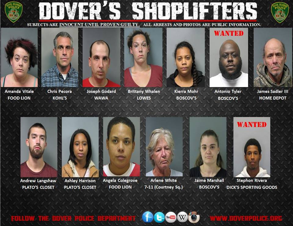 Dover's Shoplifters for Oct. 24, 2014