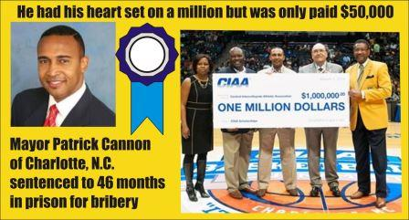 Mayor Cannon of Charlotte sentenced