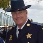 Caroline County Md Sheriff Randy Bounds at Dover Bridge. Facebook