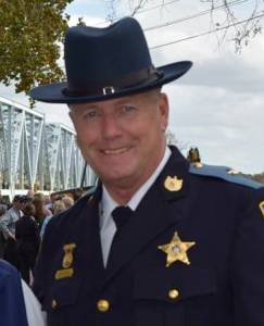 Caroline County Md Sheriff Randy Bounds at Dover Bridge. Facebook