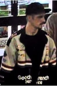 Charlotte Hall 7-Eleven credit card fraud suspect