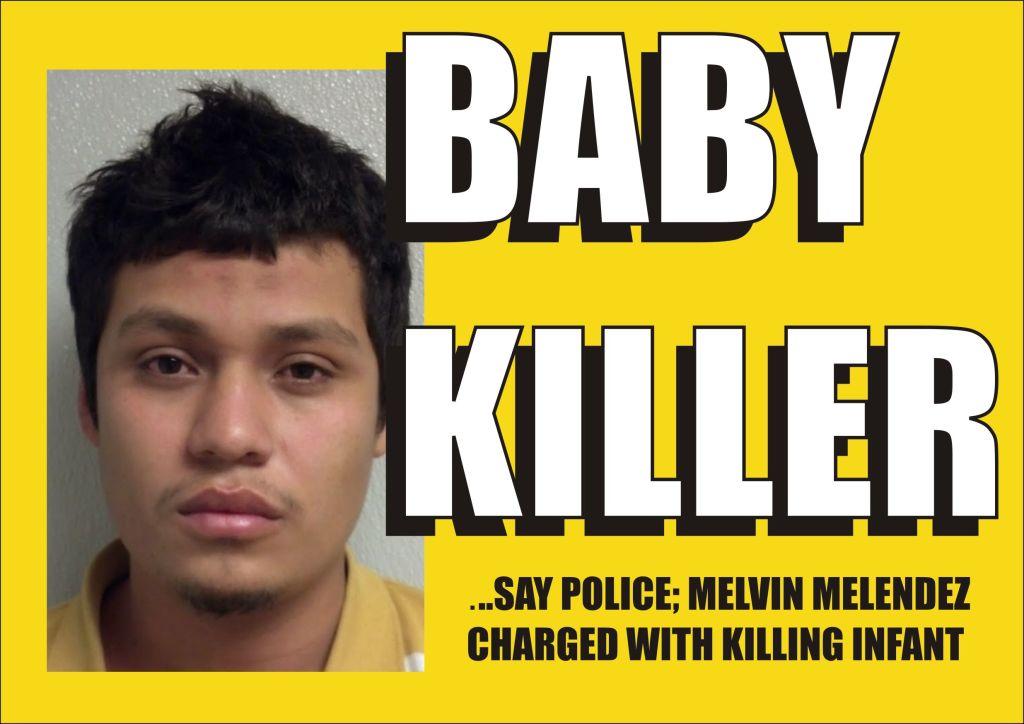BABY KILLER Melvin Melendez 121614