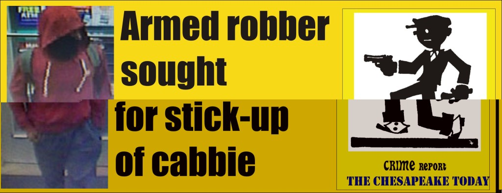 Gunman sought for armed robbery of cabbie