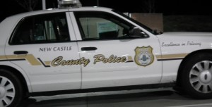 New Castle County Police. THE CHESAPEAKE TODAY photo