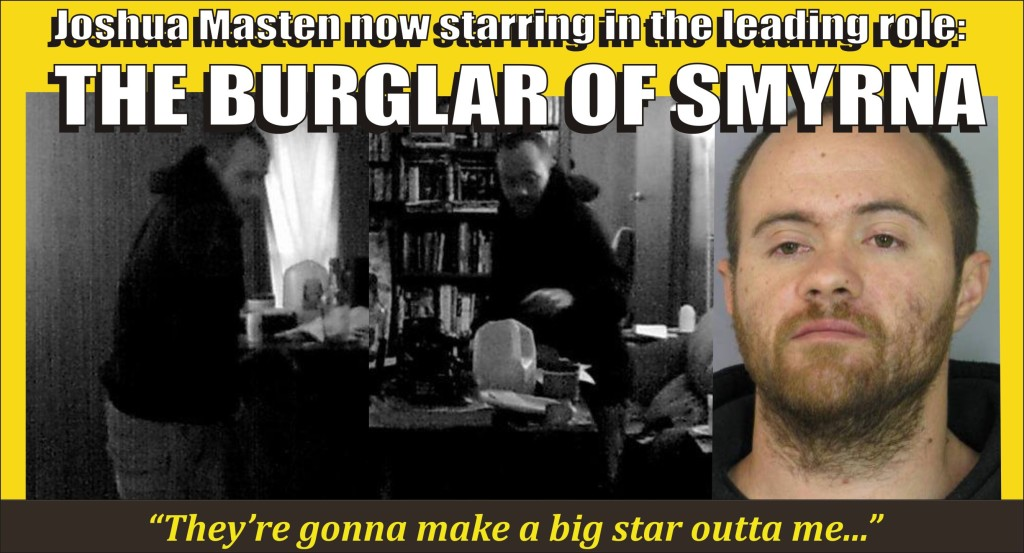 The Burglar of Smyrna starring Joshua Masten