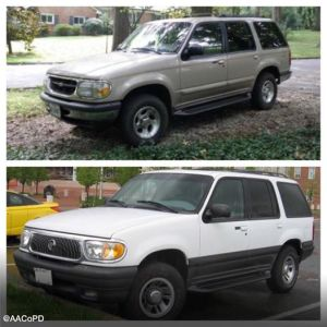 Vehicle sought in fatal hit and run in Glen Burnie Md on Dec. 11 2014