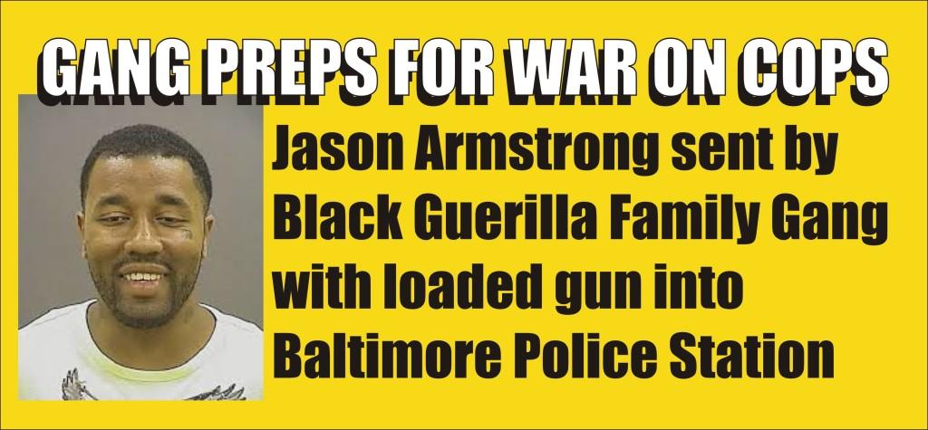 Gang preps for war on cops