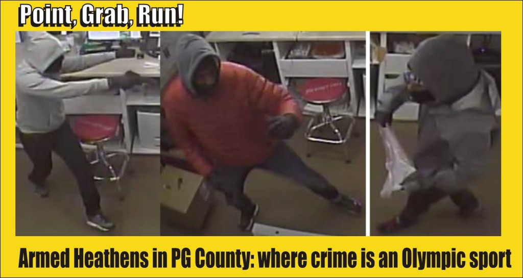 Point Grab Run crime in PG County