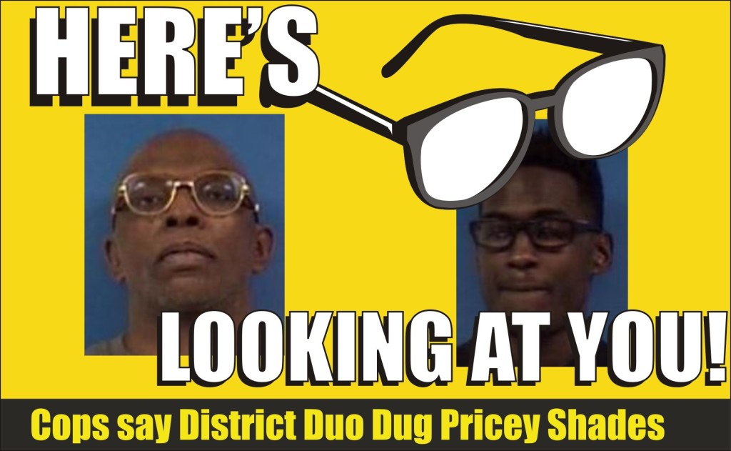 Reginald Ray Williams and Lee-Bey charged with felony shade theft Calvert Sheriff 021715