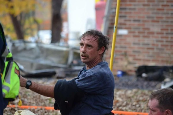 Solomons firefighter lost his own house in a fire.