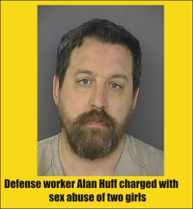 Alan Huff charged with sex abuse of child