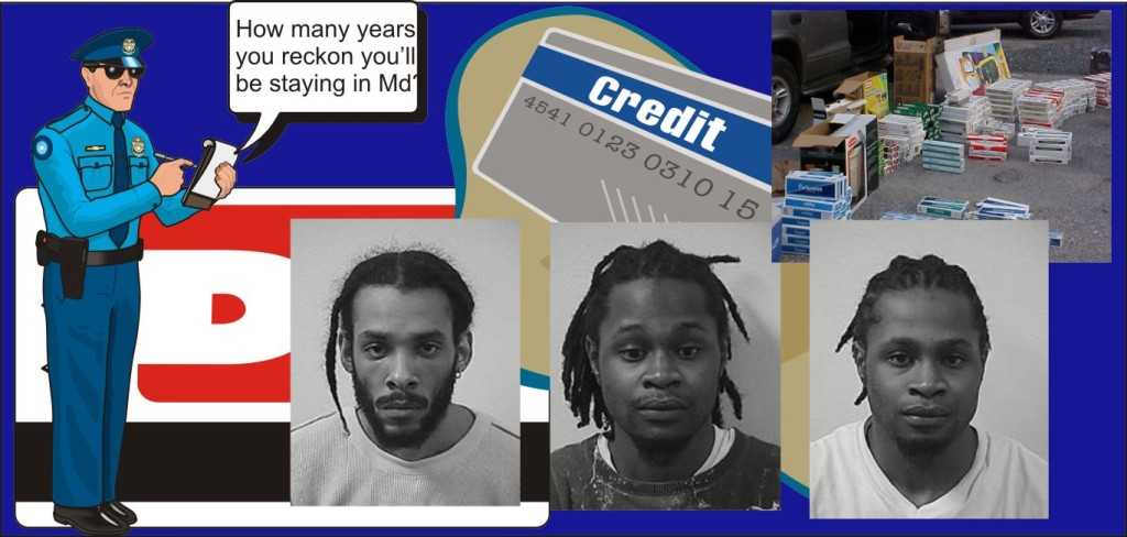 Buttheads with butts and stolen credit cards