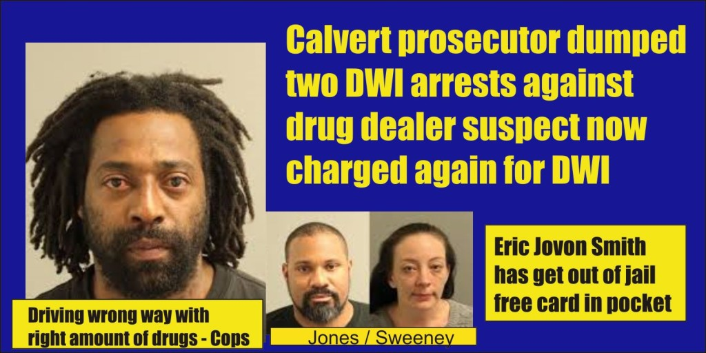Eric Jovan Smith drugs and DUI in Anne Arundel