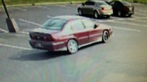 Milford PNC Bank robber's car