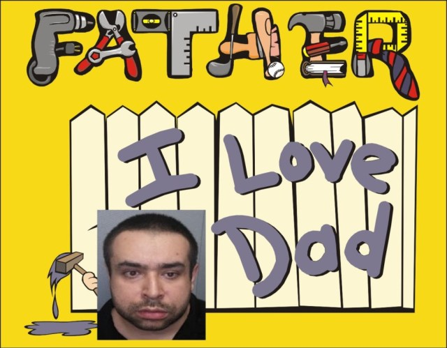 Andre Picarriello saved on spending for Fathers Day by murdering his dad