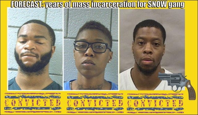 Snow gang going to prison for crime spree robbing cell stores