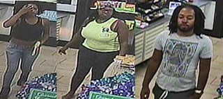 Big Momma goes shopping with stolen credit cards