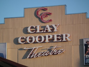 The Clay Cooper Theatre in Branson, Missouri.
