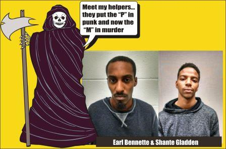 Earl Bennette and Shante Gladden charged with murder Montgomery Co Md 102415