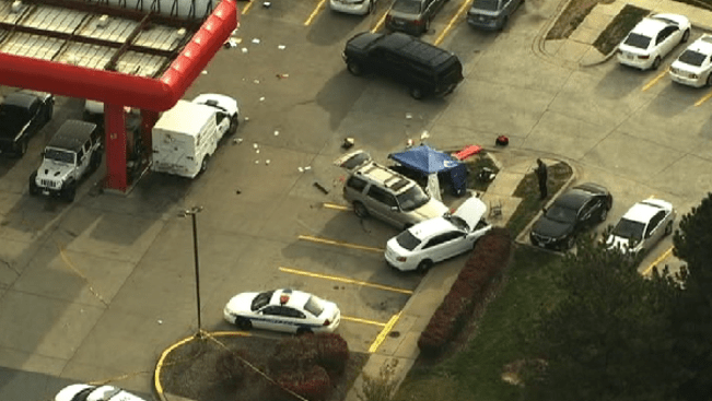 Sheetz shooting in Frederick Md photo courtesy of NBC 4