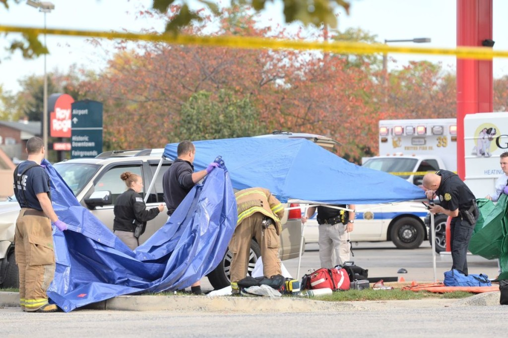 Sheetz shooting in Frederick photo courtesy of Frederick News Post Graham Cullen