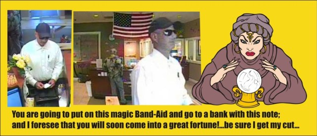 The Band-Aid Bank Robber of Warrenton