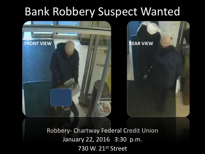 Chartway Bank Robbery