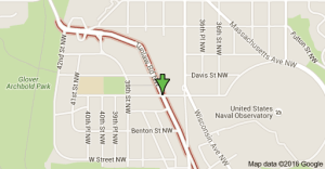 Tunlaw Road NW crib of drug dealers next to Biden mansion. Google map.