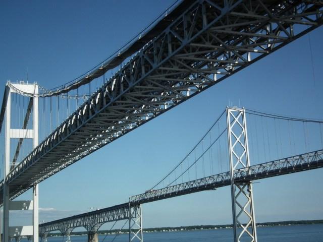 Chesapeake Bay Bridge. THE CHESAPEAKE TODAY photo